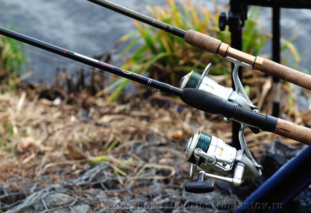 Рыболовные снасти спортсмена на соревнованиях ТОП-10 тандем 2013