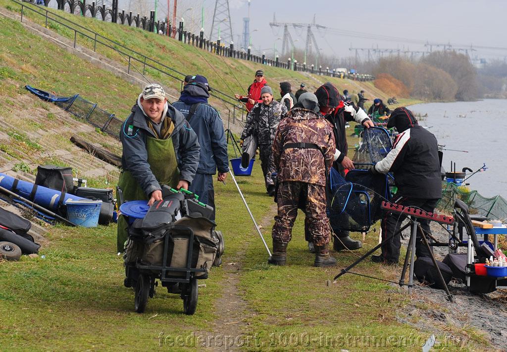 Взвешивание, жеребьевка и перенос вещей для соревнований во втором туре ТОП-10 тандем 2013