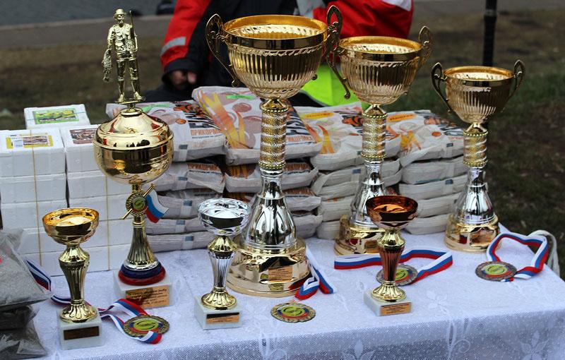 Призы и подарки на Кубке района Марьино 2015
