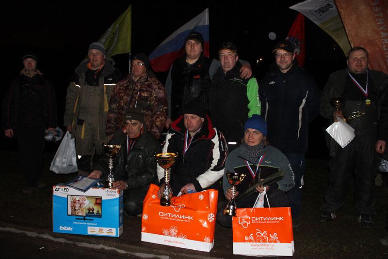 Победитель и призеры на Кубке района Марьино 2015