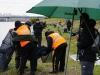 Взвешивание зоны в первом туре на соревнованиях Осенний Кубок Русфишинга 2013