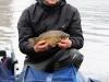 Самая крупная рыба - карась у Фролова Ильи на соревнованиях Осенний Кубок Русфишинга 2013