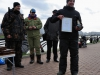 Фролов Илья получает приз за самую крупную рыбу на соревнованиях Осенний Кубок Русфишинга 2013