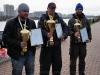 Победитель и призеры в личном зачете на соревнованиях Осенний Кубок Русфишинга 2013