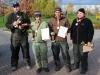 Спортсмены команды РК-Вормфарм Дам Фили на соревнованиях Осенний Кубок Русфишинга 2013
