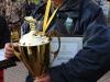 Победитель в личном зачете спортсмен из команды Типтоп Гвоздев Д.В. на соревнованиях Осенний Кубок Русфишинга 2013