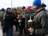 Награждение команды Типтоп на соревнованиях Осенний Кубок Русфишинга 2013