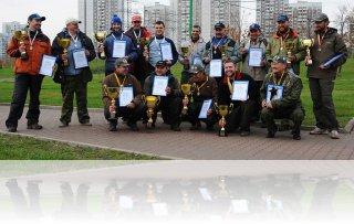 Победители и призёры Осеннего Кубка Русфишинг 2012