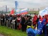 Построение перед награждением на соревнованиях Чемпионат России по фидеру 2013