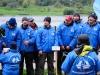 Питерские команды перед награждением на соревнованиях Чемпионат России по фидеру 2013