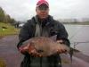 Михаил с самой крупной рыбой на Чемпионате России по фидеру 2013