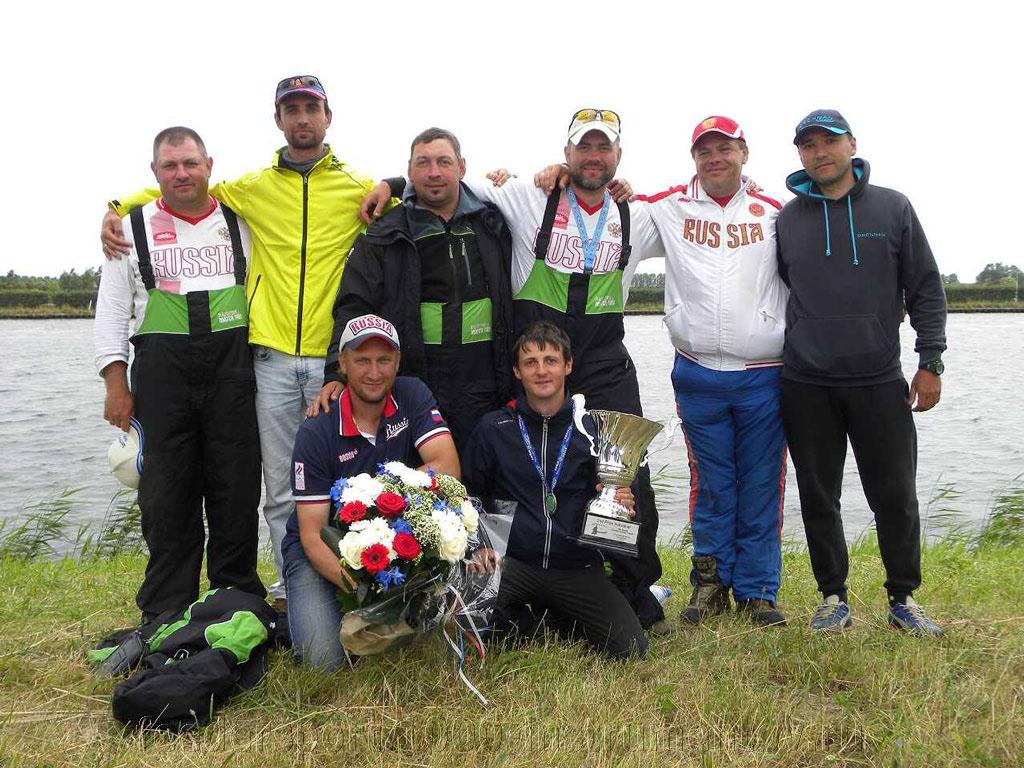Сборная России на Чемпионате Мира по фидеру 2015 в Голландии, 4-е командное место и серебро в личном зачёте