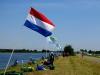 Флаг Российской Федерации на Чемпионате Мира по фидеру 2015 в Голландии