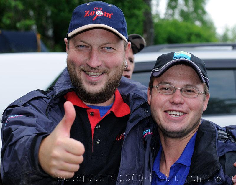 Андрей и Алексей в составе команды Гранитный Амиго-ФОРТУНА-РФ