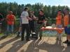 Приз за самую крупную рыбу - леща 1990 грамм, получает Павел Чернай! Таких крупных лещей в Орево на соревнованиях ещё никто не ловил!!!