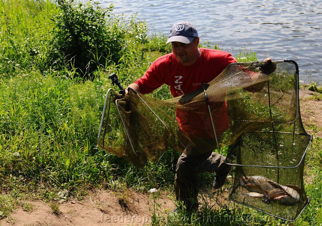 Алексей идет взвешивать рыбу, второй тур на Кубке Алгоритм 2013