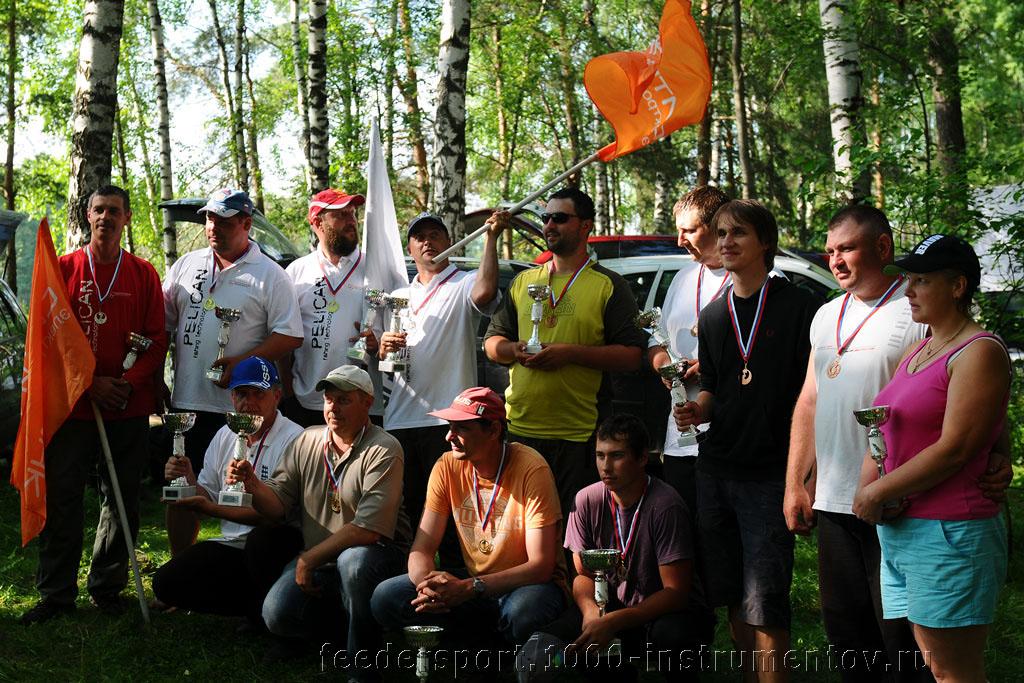 Победители и призеры Кубка клуба Алгоритм 2013 в командном зачете