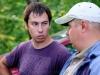 Спортсмены из команды Типтоп Александр и Михаил на Кубке Алгоритм 2013