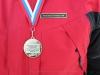 Сергей с медалью на соревнованиях Кубок памяти Чулкова 2013