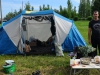 Двухкомнатная квартира в палаточном минигородке на Кубке России по фидеру 2015