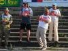 Фрагмент судейской коллегии во главе с товарищем Миловановым А.В. на Кубке России по фидеру 2015