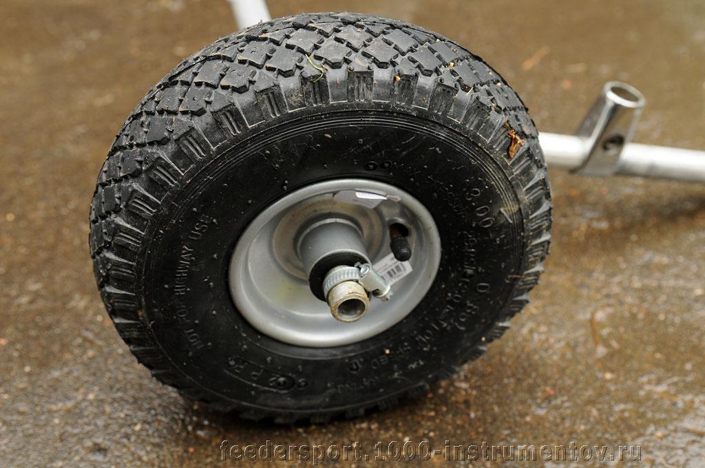Новое колесо для самодельной транспортной системы