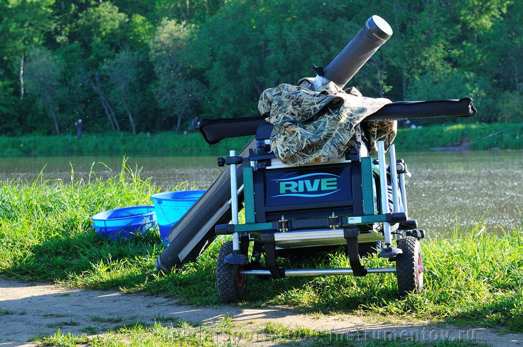 Рыболовный ящик с транспортной системой Rive