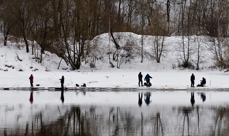 Марьино, берег реки Москва