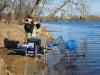 Не успели приехать на водоем - и сразу ловить!
