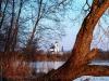 Церковь на закате дня