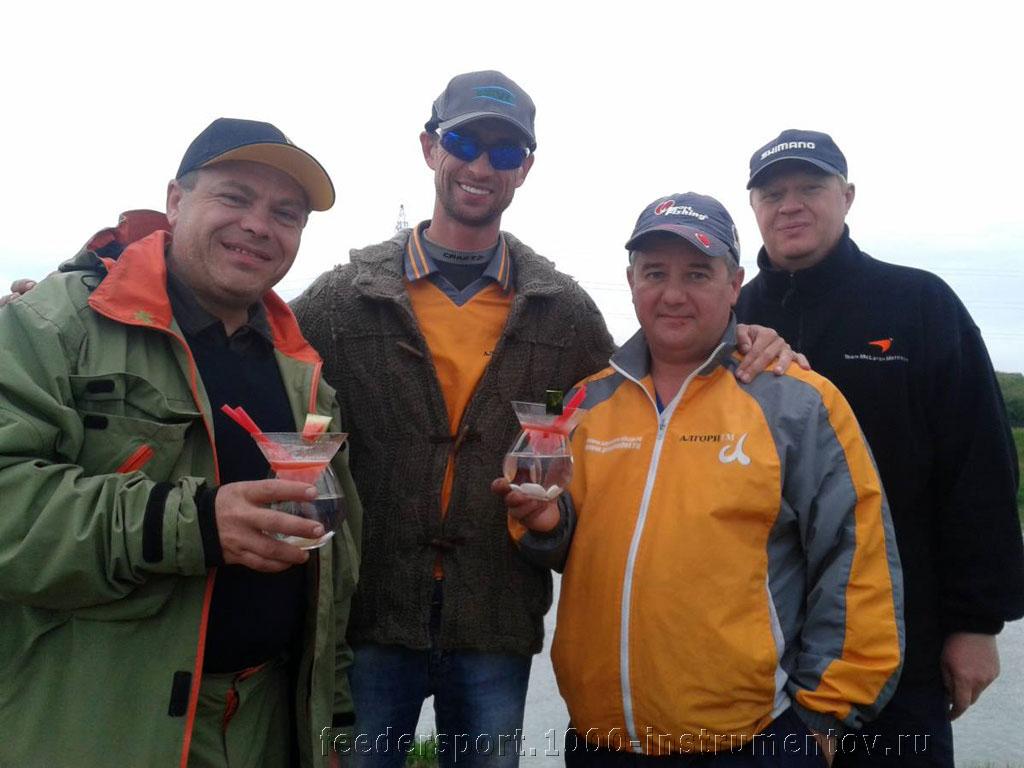 Спортсмены из России на соревнованиях II BROWNING FEEDER CUP 2013 в Словакии, канал Madunice