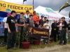Награждение победителей и призеров на соревнованиях II BROWNING FEEDER CUP 2013 в Словакии, канал Madunice