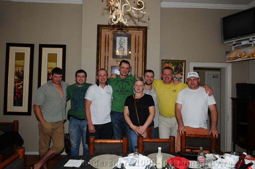 Коллективное фото на память в ресторане отеля, на ЧМ в ЮАР 2013