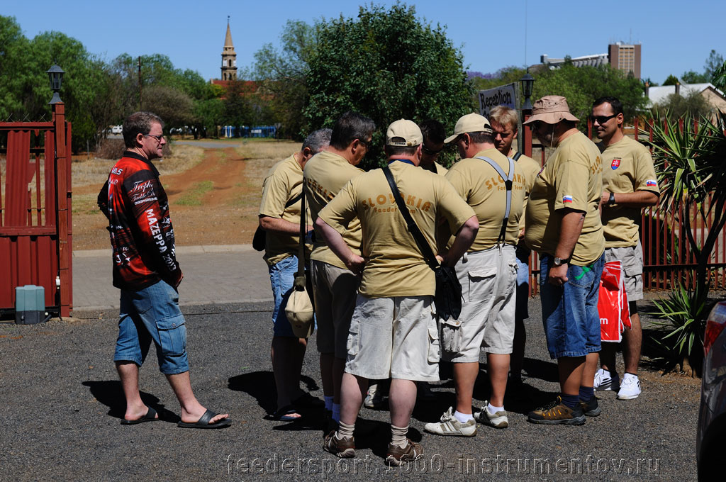 Братья славяне на регистрации в гостинице Кудана на ЧМ в ЮАР 2013