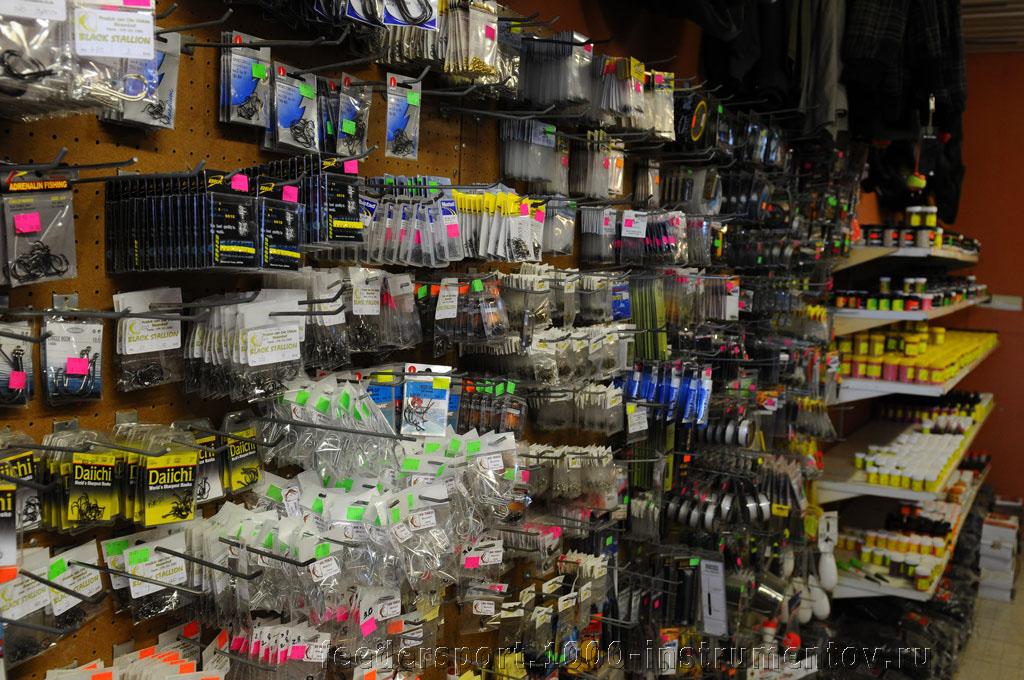 Товары в рыболовном магазине на ЧМ в ЮАР 2013
