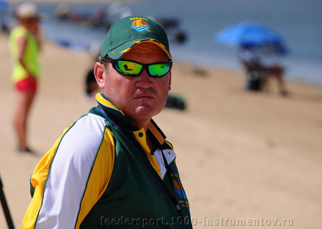 Тренер сборной команды ЮАР на ЧМ 2013