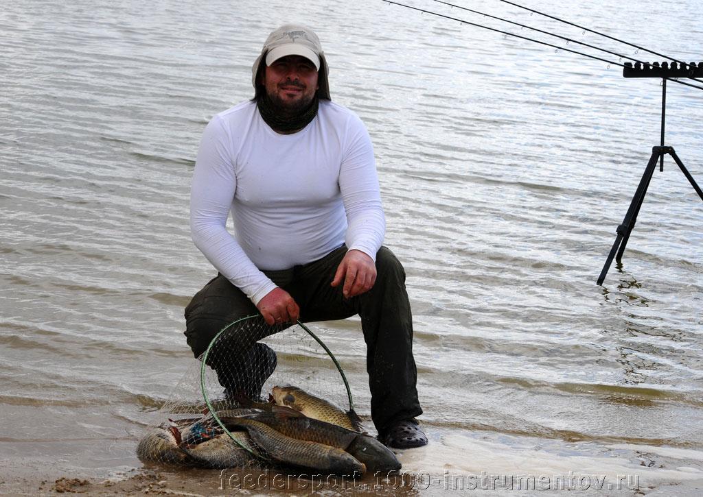 Игорь Середюк с уловом на ЧМ в ЮАР 2013