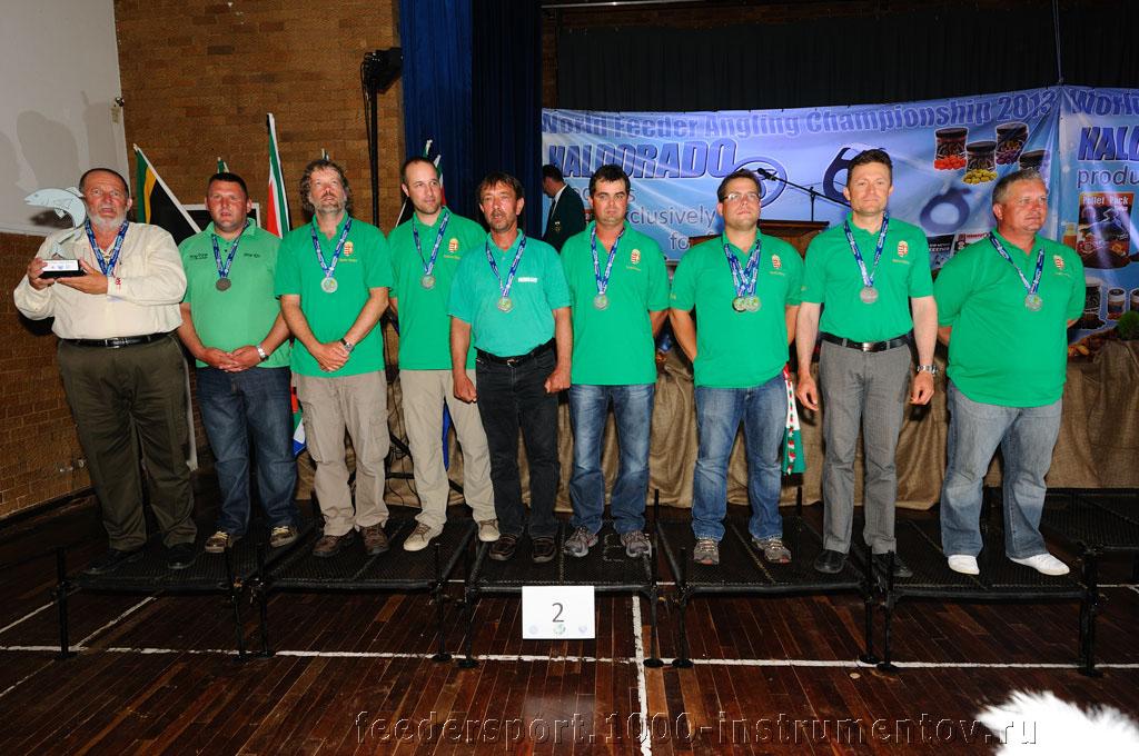 Сборная Венгрии - второе командное место на ЧМ в ЮАР 2013