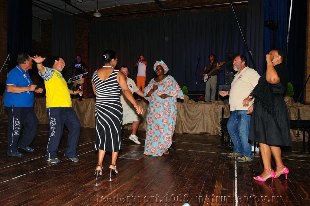 Танцы на банкете ЧМ в ЮАР 2013