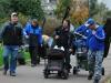 Спортсмены идут на соревнования Кубок Москвы 2012