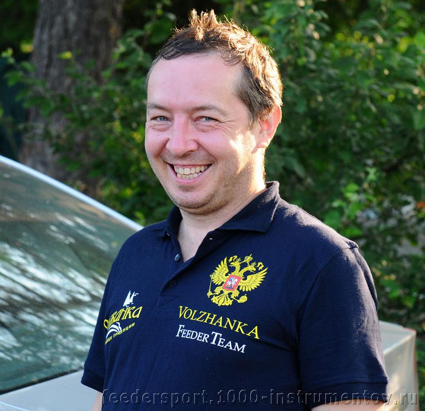 Организатор соревнований Сергей Марков