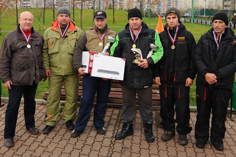 Победители и призёры соревнований