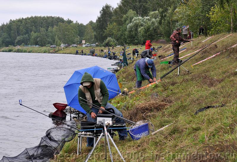 Подготовка к ловле на Чемпионате Москвы 2009