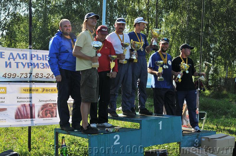 Коллективное фото победителей и призеров на Чемпионате Москвы 2009