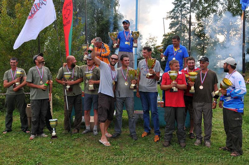 Чемпионат Москвы по фидеру 2012