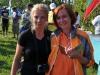 Спортсменки из команды Алгоритм, Катя и Маша на соревнованиях Чемпионат Москвы 4-5 августа 2012