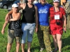 Спортсмены с женами из команды МФК-Звенигород на соревнованиях Чемпионат Москвы 4-5 августа 2012