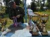 Сергей Петров готовит награды на соревнованиях Чемпионат Москвы 4-5 августа 2012