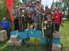 Победители и призеры в командном зачете на соревнованиях Чемпионат Москвы 4-5 августа 2012