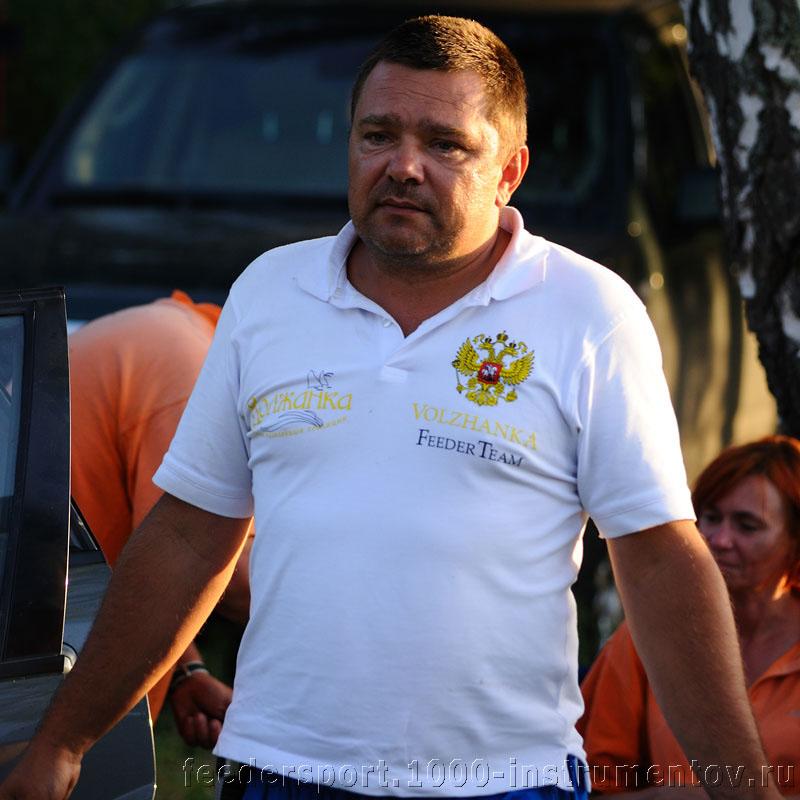 Сергей из команды Волжанка на соревнованиях Чемпионат Москвы 2013